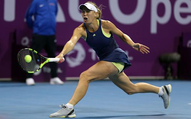 "Monica Niculescu accused world No 1 Caroline Wozniacki of giving herself ""too much importance"" after a grunting row erupted during their third-round clash at the Qatar Open on Thursday. Wozniacki, who climbed back to the top of the rankings after winning her first grand slam title at the Australian Open, complained to the umpire about the noise Niculescu was making during the ninth game of the contest in Doha. Wozniacki was heard saying putting opponents off was the only way Niculescu can win and, after coming through the match 7-5 6-1, she continued to criticise the Romanian in her on-court interview. Speaking at her post-match press conference, Wozniacki said: ""She's a player that tries to get into your head. I just tried to let him (the umpire) know to pay attention to her grunting because she'll hit the ball and two seconds later when the ball is on my side and I'm right about to hit, she'll start grunting and make a noise, and she'll change the grunt according to what she feels like. ""It's disturbing. It's in the rules that they're not supposed to do that so I was just making sure the umpire was paying attention to that. And she stopped doing that after."" Beyond the Baseline 