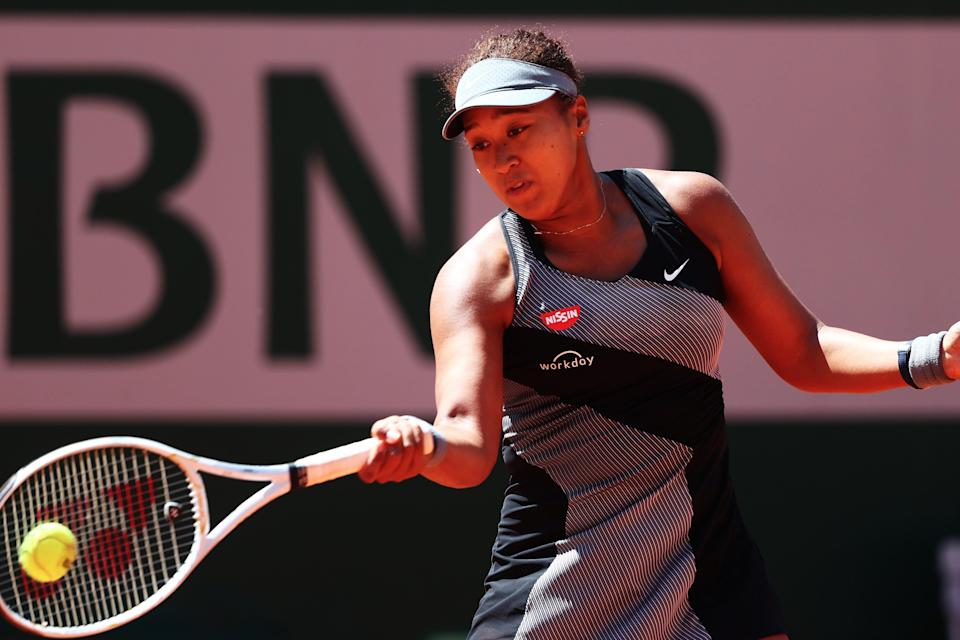 <p>Naomi Osaka is not speaking to the media at Roland Garros</p> (Getty Images)