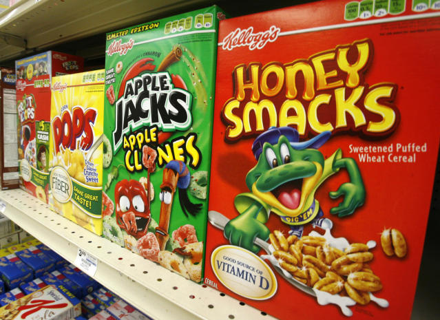 The Kellogg Company is voluntarily recalling some of its Honey Smacks cereal after salmonella infected 73 people in 31 states. The Centers for Disease Control and Prevention says most of the outbreaks were in California, Massachusetts, New York, and Pennsylvania. (Photo: AP/Gene J. Puskar, File)