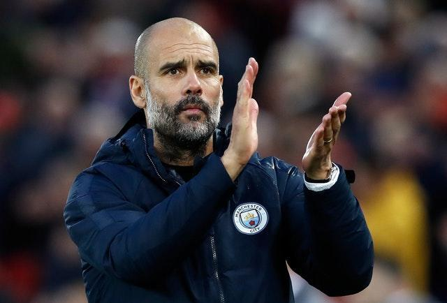 Guardiola is hoping to wrap up qualification for the last 16