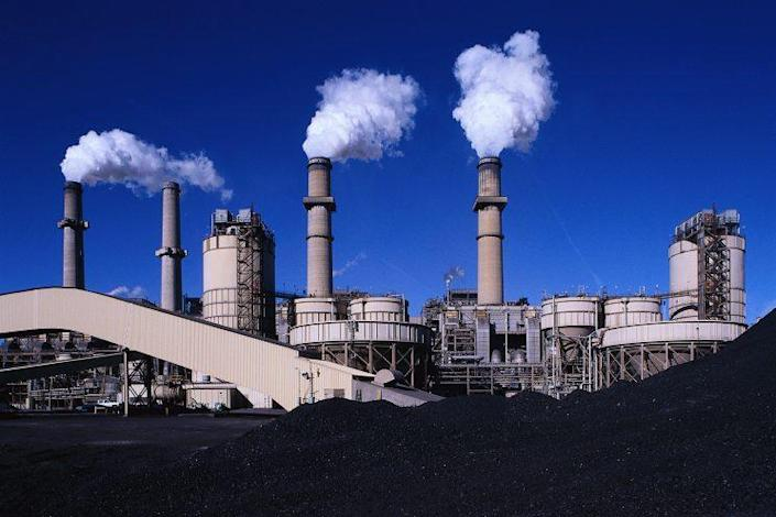 A power plant in New Mexico