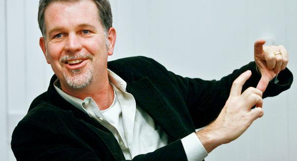 Reed Hastings, president and chief executive officer of NetFlix Inc.  Ryan Anson, Bloomberg News via Getty Images