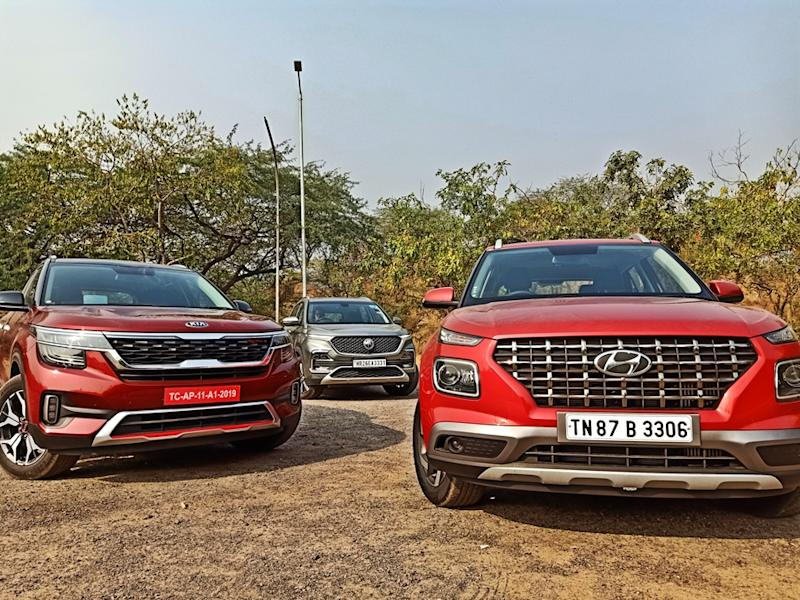 Best 3 suvs of India