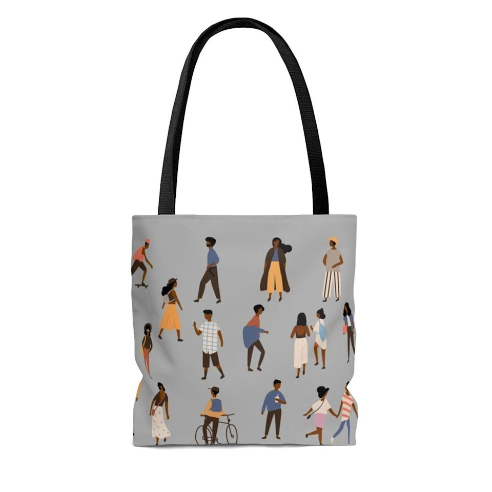 <p>I can't get over this artsy <span>Tote Bag</span> ($25 and up). Can you?</p>