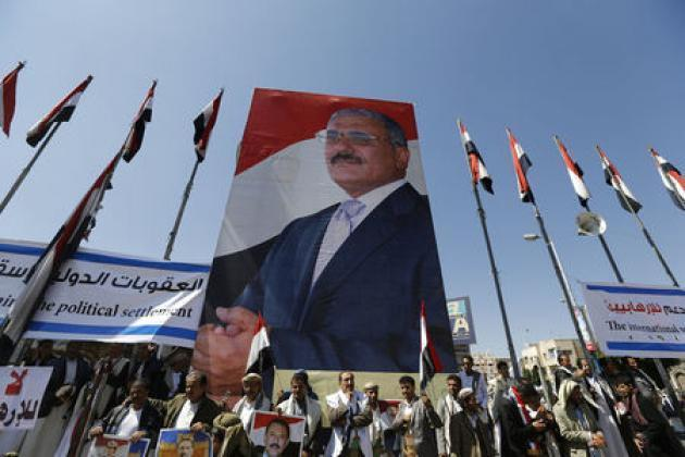 The last hours of Yemen's Saleh