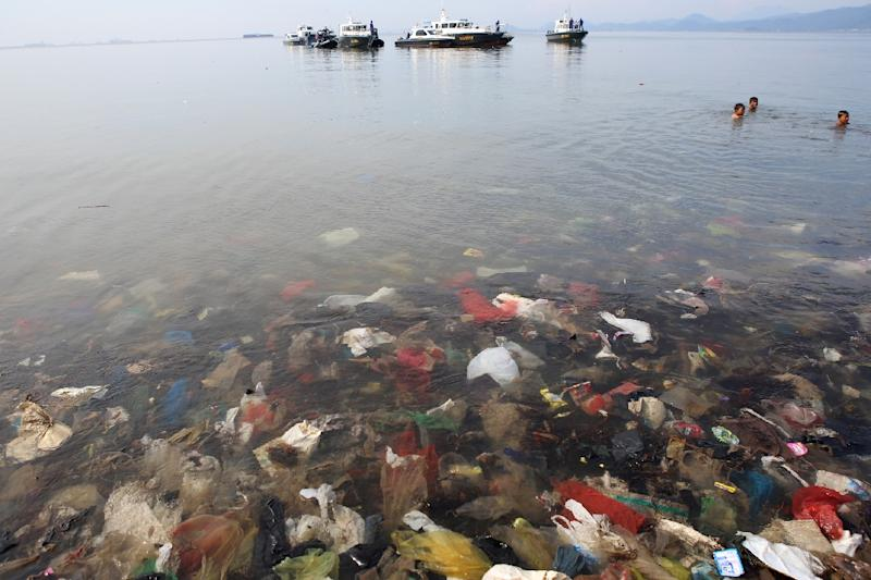 The world currently produces more than 300 million tonnes of plastics annually, and there are at least five trillion plastic pieces floating in our oceans, scientists have estimated (AFP Photo/PERDIANSYAH)