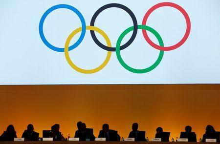 International Olympic Committee (IOC) delegates are seen during the IOC extraordinary session in Lausanne, Switzerland July 11, 2017. REUTERS/Pierre Albouy