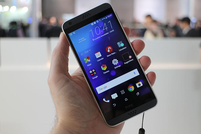HTC brings its affordable Desire smartphone to the US