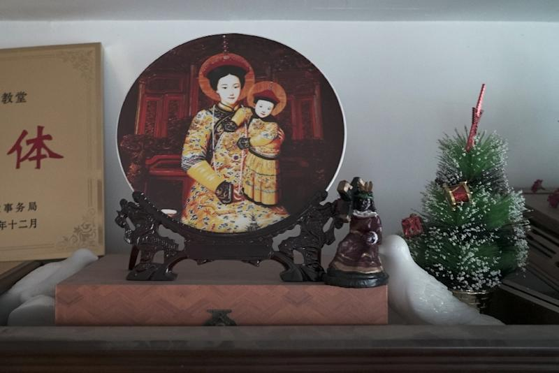 There Are An Estimated 12 Million Catholics In China Afp Photo Pak Yiu