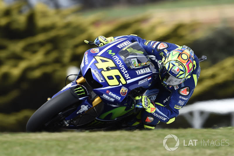 """#46 Valentino Rossi<span class=""""copyright"""">Gold and Goose / Motorsport Images</span>"""