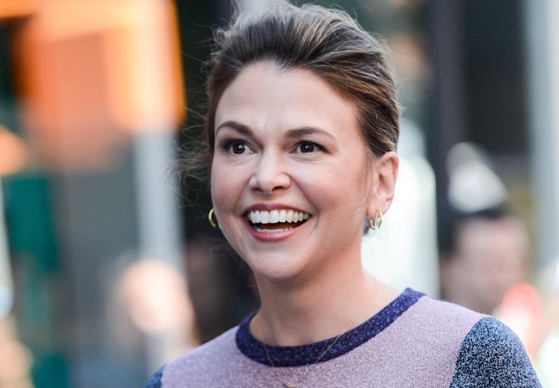"""""""Younger"""" star and Broadway veteran Sutton Foster opened up about her daughter, Emily, whom she adopted earlier this year."""