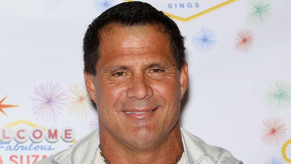 Seen here, baseball legend Jose Canseco at a gala event.