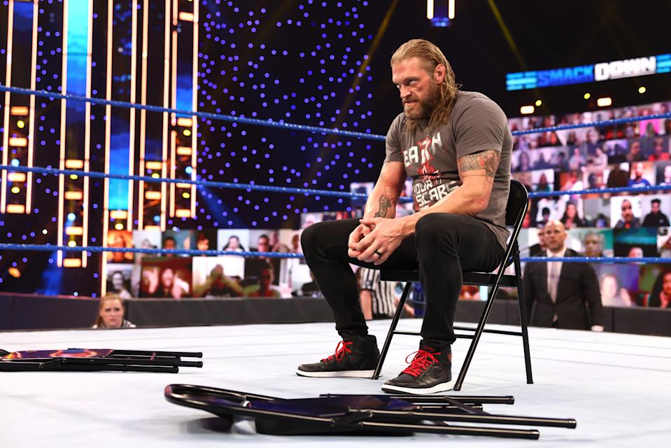 WWE superstar Edge and Daniel Bryan will face Universal Champion Roman Reigns at WrestleMania on Sunday, April 11 at Raymond James Stadium in Tampa Bay, Florida.