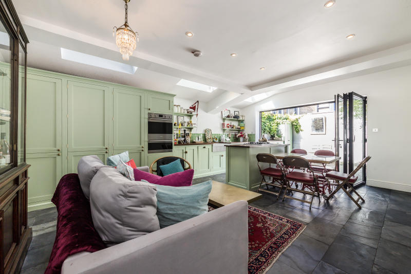 Rachel Khoo's open plan kitchen was inspired by her time living in Paris. (Dexters)