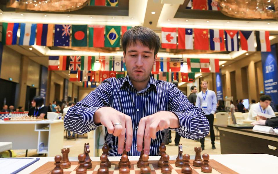 Azerbaijani chess grandmaster Teimour Radjabov - Pacific Press