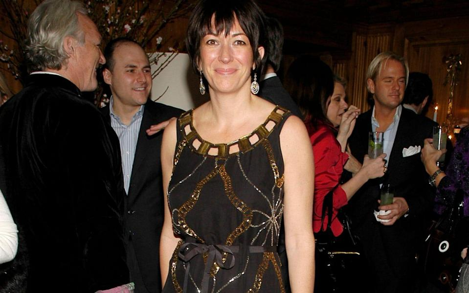 Ghislaine Maxwell in New York in 2007 - Patrick McMullan/Getty