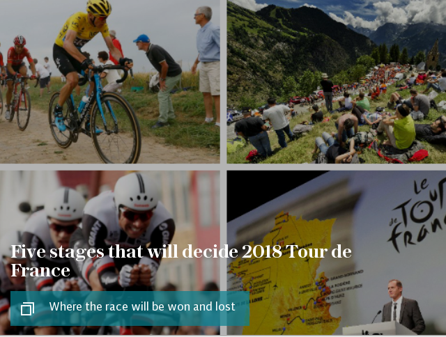 5 stages that will decide 2018 Tour de France