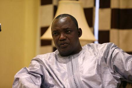 Gambian president-elect Adama Barrow is seen during an exclusive interview with Reuters in Banjul, Gambia, December 12, 2016. REUTERS/Afolabi Sotunde