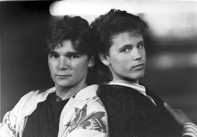 Corey Feldman and Corey Haim License to Drive Credit: 522967Globe Photos/MediaPunch /IPX