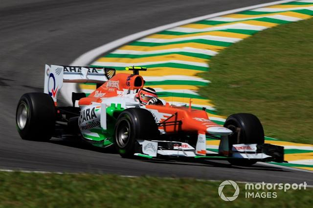 "Nico Hulkenberg, Force India, 2012 <span class=""copyright"">Charles Coates / Motorsport Images</span>"