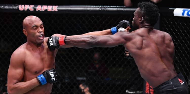 Uriah Halls cracks Anderson Silva at UFC Vegas 12