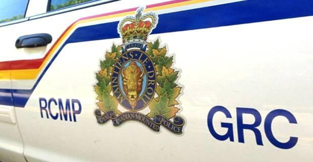 The RCMP say it appears the man lost control of his motorcycle and crashed into a ditch.  (CBC - image credit)