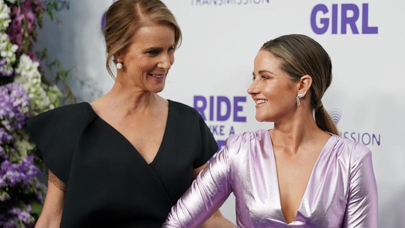 RIDE LIKE A GIRL RED CARPET