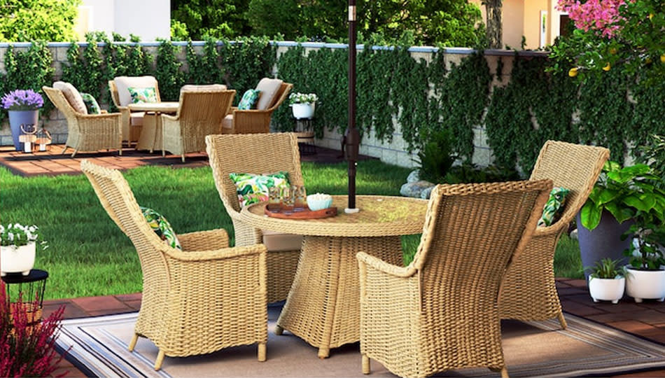 Stock up on stuff for your indoor and outdoor spaces at the Lowe's Labor Day sale. (Photo: Lowe's)
