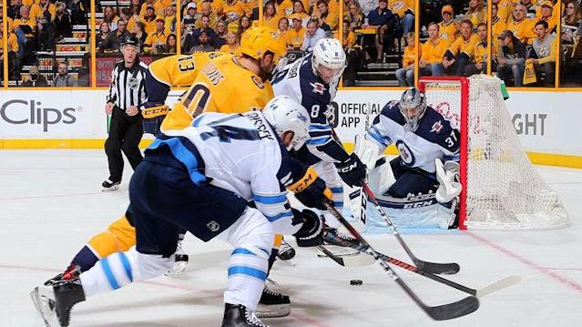 Die Winnipeg Jets treffen in den NHL-Playoffs auf die Nashville Predators