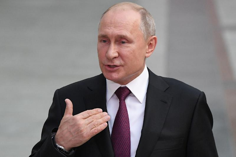 "Russian President Vladimir Putin said Russia believes ""there is no proof there"" that the country was behind the downing of Malayasia Arlines flight MH17"