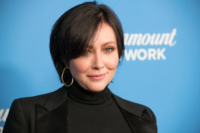 Shannen Doherty attends the Paramount Network Launch Party on Jan. 18 in Los Angeles. (Photo: Getty Images)