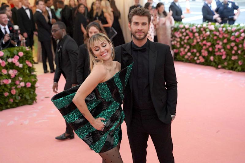 Miley Cyrus and Liam Hemsworth have called it quits. Source: Getty