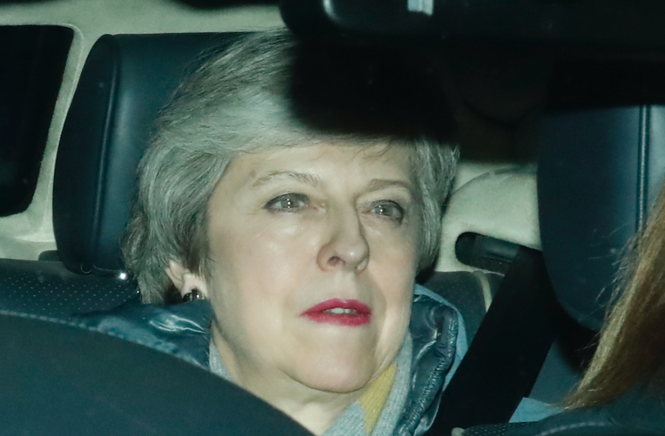 <em>Theresa May is still hoping she can get her Brexit deal through Parliament (Getty)</em>