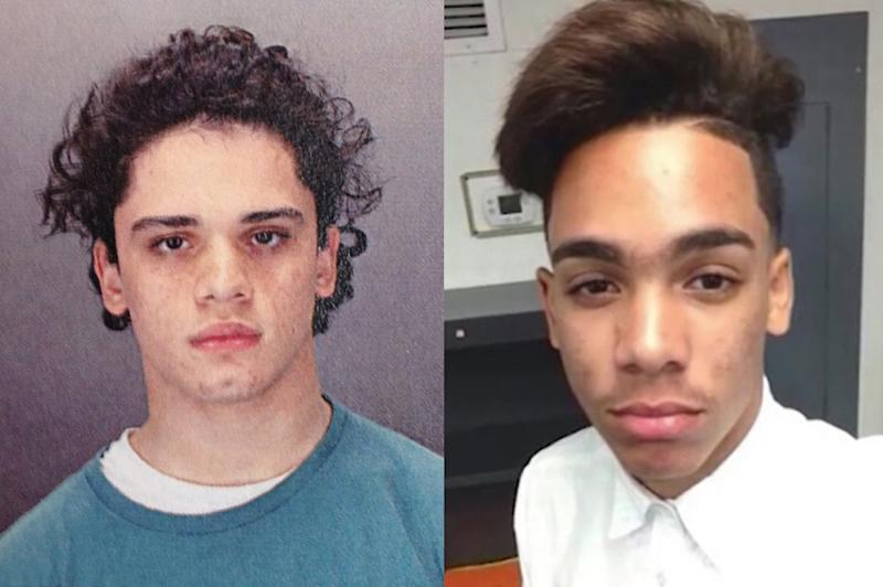 Matthew Borges (left) killed Lee Manuel Viloria-Paulino (right) in December 2016.