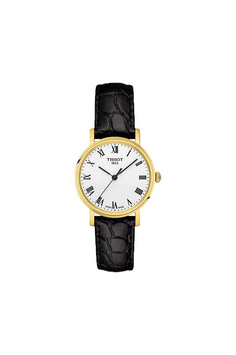 """<p>Tissot - £220.00</p><p><a class=""""link rapid-noclick-resp"""" href=""""https://go.redirectingat.com?id=127X1599956&url=https%3A%2F%2Fwww.johnlewis.com%2Ftissot-t1092103603300-women%27s-everytime-leather-strap-watch-black-white%2Fp4367197&sref=https%3A%2F%2Fwww.elle.com%2Fuk%2Ffashion%2Fwhat-to-wear%2Farticles%2Fg31918%2Fbest-watches-to-buy-this-season%2F"""" rel=""""nofollow noopener"""" target=""""_blank"""" data-ylk=""""slk:SHOP NOW"""">SHOP NOW</a></p>"""