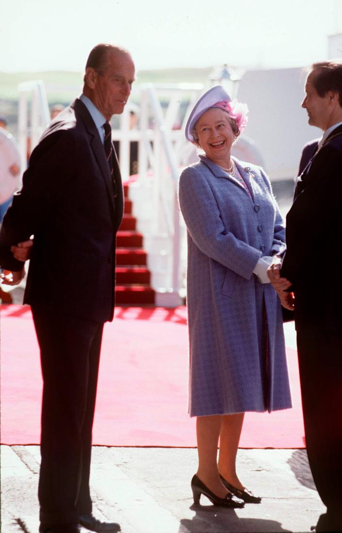 queen and prince philip 1992