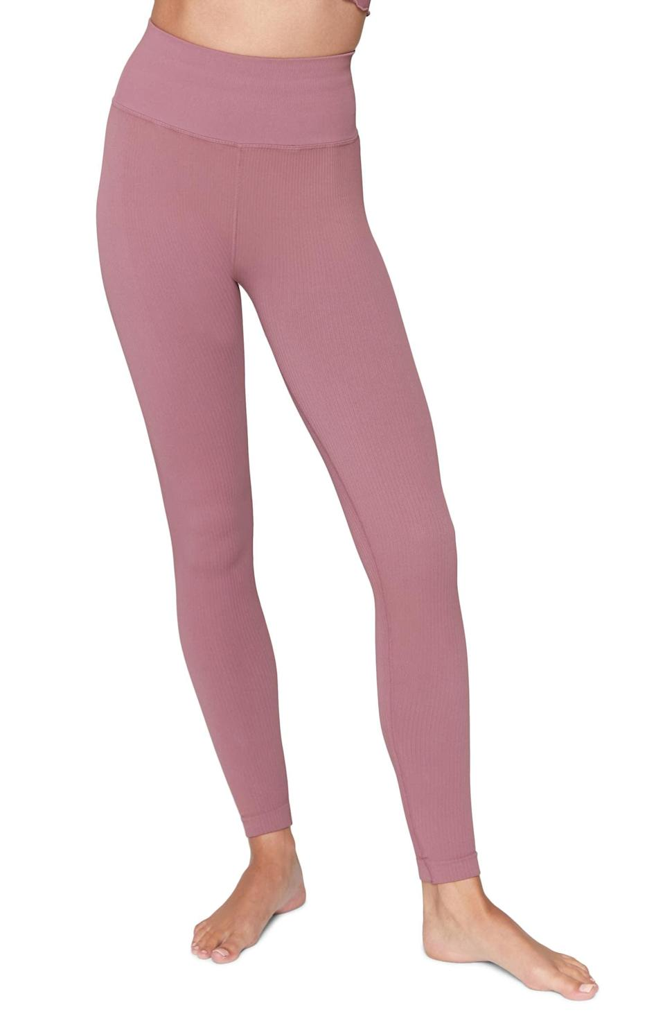 <p><span>Spiritual Gangster Metta Ribbed Leggings</span> ($53, originally $88)</p>
