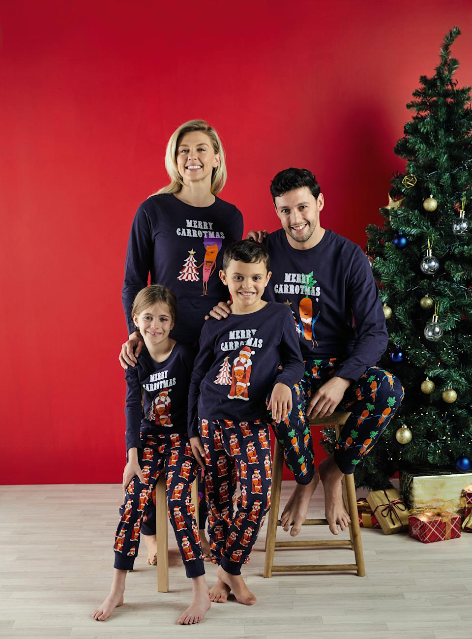 There's even pyjamas available for the whole family. [Photo: Aldi]