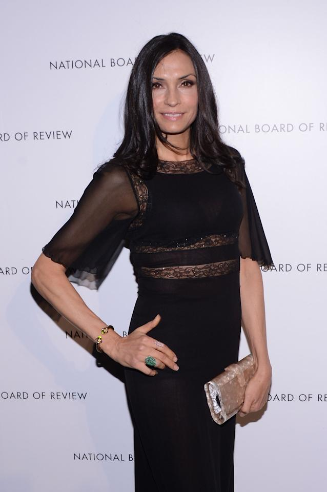 NEW YORK, NY - JANUARY 08:  Director Famke Janssen attends the 2013 National Board Of Review Awards Gala at Cipriani 42nd Street on January 8, 2013 in New York City.  (Photo by Stephen Lovekin/Getty Images)