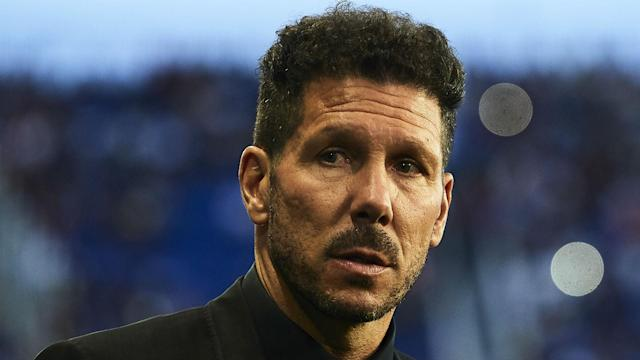 Diego Simeone was proud of Atletico Madrid and left pleased with their win over Malaga.