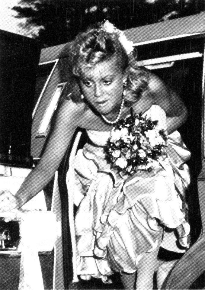"""<p>Amy Poehler looked like she was wearing a bad bridesmaid dress for her 1989 prom! The comedian recalled her days back at Burlington High in Burlington, Mass., where she was active in cheerleading and student council, in her 2014 memoir <i>Yes Please</i>. """"In my high school yearbook, I was voted third runner-up for 'Most Casual,'"""" she wrote. """"I never figured out if that meant most casual in dress or in overall manner. In any case, I didn't come in first. I guess the two ahead of me wanted it less."""" <i>(Photo: Seth Poppel/Yearbook Library)</i></p>"""