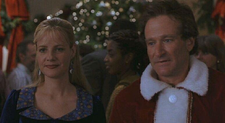 The final Christmas scene was shot first