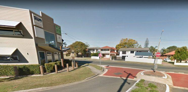 The girl had booked an Uber to her friend's house in Manly West (Google Street View)