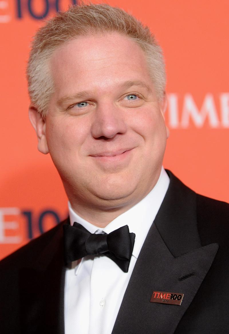 FILE - In this May 4, 2010 file photo, Glenn Beck attends the TIME 100 gala celebrating the 100 most influential people, at the Time Warner Center in New York. Beck said Monday, July 11, 2011,  that he's relocating his family to Dallas, where his media company is building a new television and radio studio. AP Photo/Evan Agostini, file)