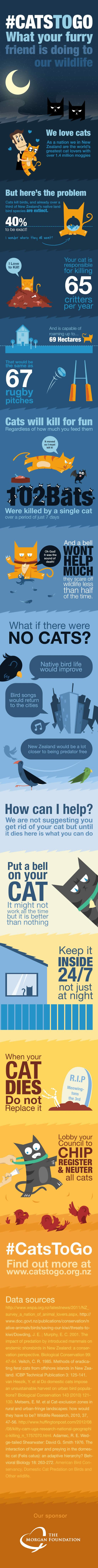 Me-no-w! New Zealand Man Wants to Ban Cats