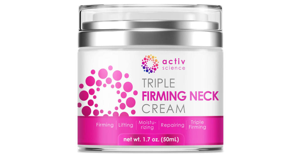 Activscience Neck Firming Cream (Photo: Amazon)