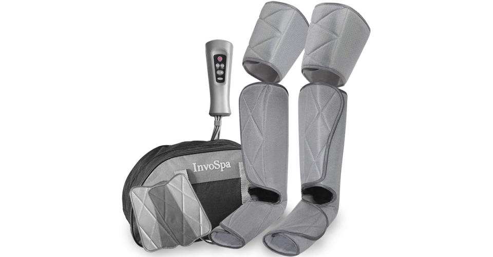 InvoSpa Leg Massager for Circulation (Photo: Amazon)