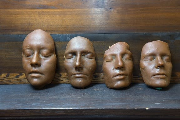 Uncannily Lifelike Roman Masks Recreated in Wax