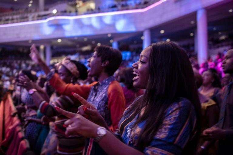 Christian services in Nigeria are often exuberant affairs, staged in venues that can hold thousands of people