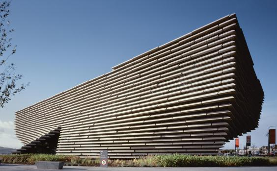 V&A Dundee opened in 2018, the first Victoria and Albert museum outside London (Erieta Attali)